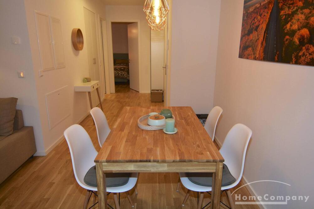 Möblierte Zwei-Zimmer-Wohnung in Kreuzberg mit Dachterrasse ...
