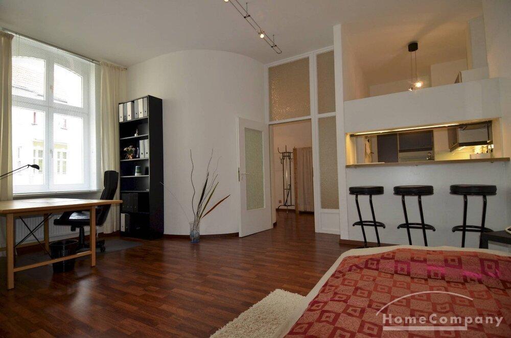 modernes 1 zimmer apartment in berlin charlottenburg komplett und neu m bliert objektdetails. Black Bedroom Furniture Sets. Home Design Ideas